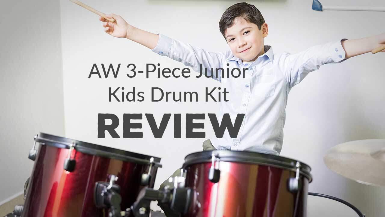 AW 3-Piece Junior Kids Drum Kit Review