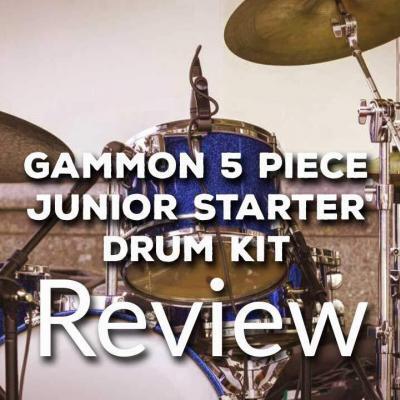 Gammon 5-Piece Junior Starter Drum Kit Complete Review