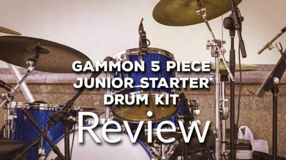 Gammon 5-Piece Junior Starter Drum Kit Complete Review