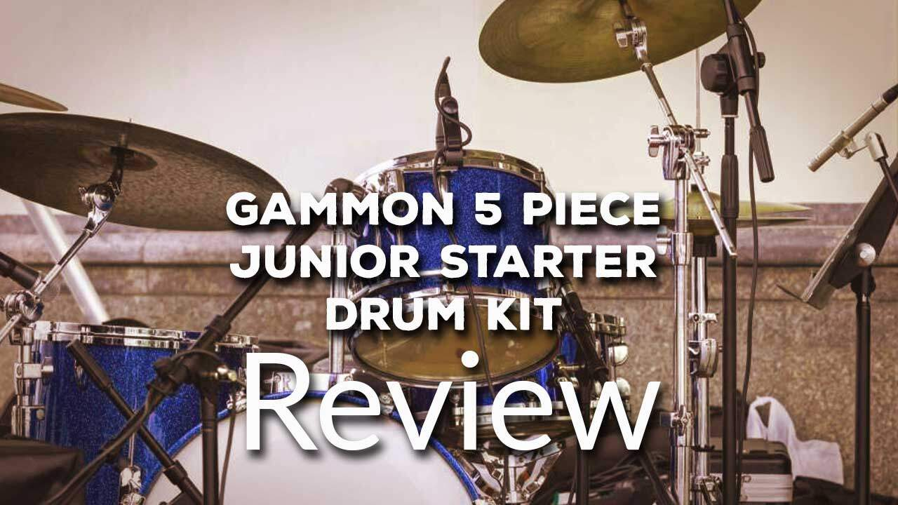 Gammon 5 Piece Junior Starter Drum Kit with Cymbals Review 2