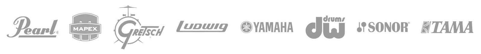 Drum Manufacturer Logo Strip