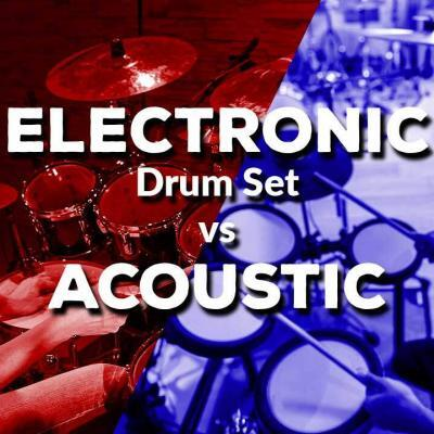 Electronic Drum Set vs Acoustic
