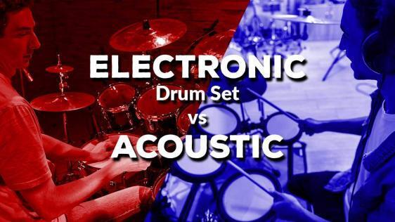 Electronic Drum Set vs Acoustic